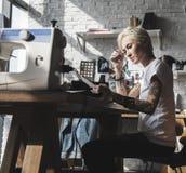 Diseñador de moda Stylish Showroom Concept fotografía de archivo