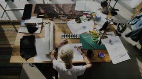 Diseñador de moda Stylish Showroom Concept imagen de archivo