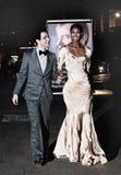 Diseñador de moda Zac Posen y modelo Sessilee Lopez imagen de archivo libre de regalías