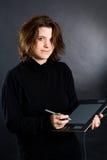 Diseñador de sexo femenino Fotos de archivo
