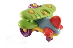 Diseñador del aeroplano del juguete del ` s de los niños Foto de archivo