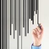 Diseñador del código de barras Foto de archivo libre de regalías