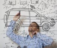 Diseñador del coche Imágenes de archivo libres de regalías