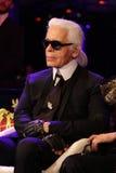 Diseñador Karl Lagerfeld imagen de archivo libre de regalías