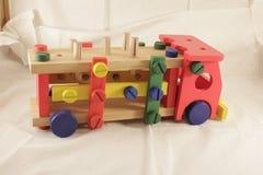 Diseñador y herramientas del coche del juguete Imágenes de archivo libres de regalías