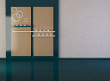 Diseñe el interior de la sala de estar moderna de la elegancia Fotografía de archivo libre de regalías