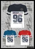 Diseñe la colección de la camiseta de la plantilla del vector para los hombres 009 libre illustration
