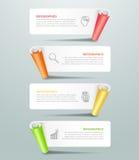 Diseñe opciones infographic de la plantilla las 4, concepto del negocio infographic Imagen de archivo libre de regalías