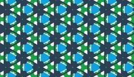 Diseñe para imprimir en la tela, materia textil, papel, envoltura, scrapbooking Ornamento tradicional retro, estilo de la teja de Foto de archivo libre de regalías