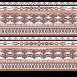 Diseño étnico de la acuarela libre illustration