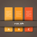 diseño 3d de tarjetas fotografía de archivo libre de regalías