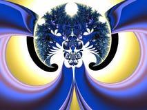 Diseño abstracto: Árbol de la vida Imagen de archivo