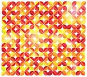 Diseño abstracto amarillo de la curva del vector Imagen de archivo libre de regalías