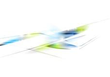 Diseño abstracto brillante del vector de la tecnología Imágenes de archivo libres de regalías