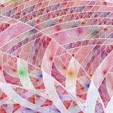 Diseño abstracto colorido del fractal Imagenes de archivo