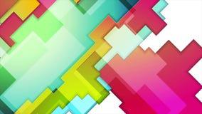 Diseño abstracto colorido del movimiento del fondo de la geometría