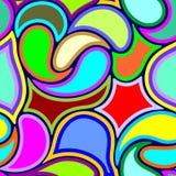 Diseño abstracto de Art Deco Vector Seamless Pattern ilustración del vector