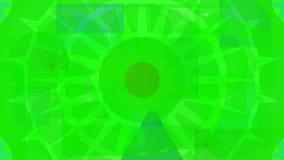 Diseño abstracto de Digitaces de formas verdes ilustración del vector