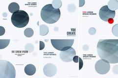Diseño abstracto de elementos coloridos del vector para el fondo moderno con las rondas suaves grises para la impresión de marcad stock de ilustración