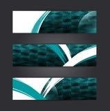 Diseño abstracto de la bandera Libre Illustration