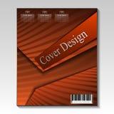 Diseño abstracto de la cubierta Modelo del vector Imágenes de archivo libres de regalías