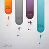 Diseño abstracto de la plantilla del infographics ilustración del vector