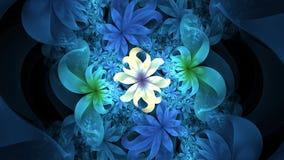 Diseño abstracto de las flores imagen de archivo libre de regalías