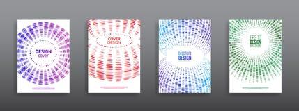 Diseño abstracto de los círculos en el fondo blanco Foto de archivo libre de regalías