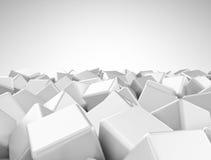 Diseño abstracto de los cubos Fotos de archivo