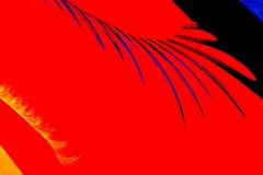 Diseño abstracto de vidrio Imágenes de archivo libres de regalías