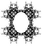 Diseño abstracto decorativo de Digitaces Imagen de archivo