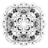Diseño abstracto decorativo de Digitaces Fotos de archivo libres de regalías