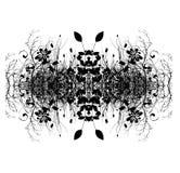 Diseño abstracto decorativo de Digitaces Foto de archivo