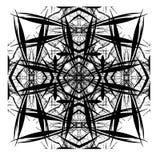 Diseño abstracto decorativo de Digitaces del azulejo Imagenes de archivo