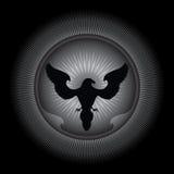Diseño abstracto del águila Foto de archivo