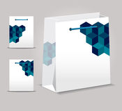 Diseño abstracto del bolso del vector Ilustración del Vector