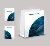Diseño abstracto del bolso del vector Libre Illustration