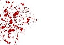 Diseño abstracto del color rojo de la salpicadura ejemplo d Foto de archivo libre de regalías