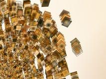 Diseño abstracto del fondo Imagen de archivo