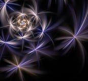 Diseño abstracto del fractal Foto de archivo