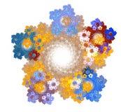 Diseño abstracto del fractal Foto de archivo libre de regalías