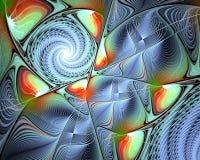 Diseño abstracto del fractal Imágenes de archivo libres de regalías