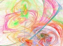 Diseño abstracto del fractal Fotografía de archivo libre de regalías