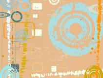 Diseño abstracto del grunge Fotografía de archivo libre de regalías