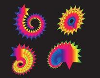 Diseño abstracto del hexágono, textura del fondo ilustración del vector