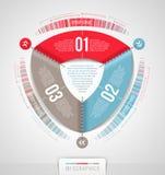 Diseño abstracto del infographics Imágenes de archivo libres de regalías