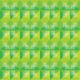Diseño abstracto del modelo del verde del fondo Stock de ilustración