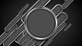 Diseño abstracto del movimiento del fondo del metal de la tecnología