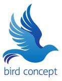 Diseño abstracto del pájaro Fotografía de archivo