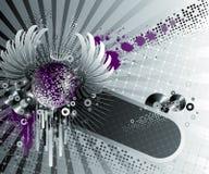Diseño abstracto del partido. Imagen de archivo libre de regalías